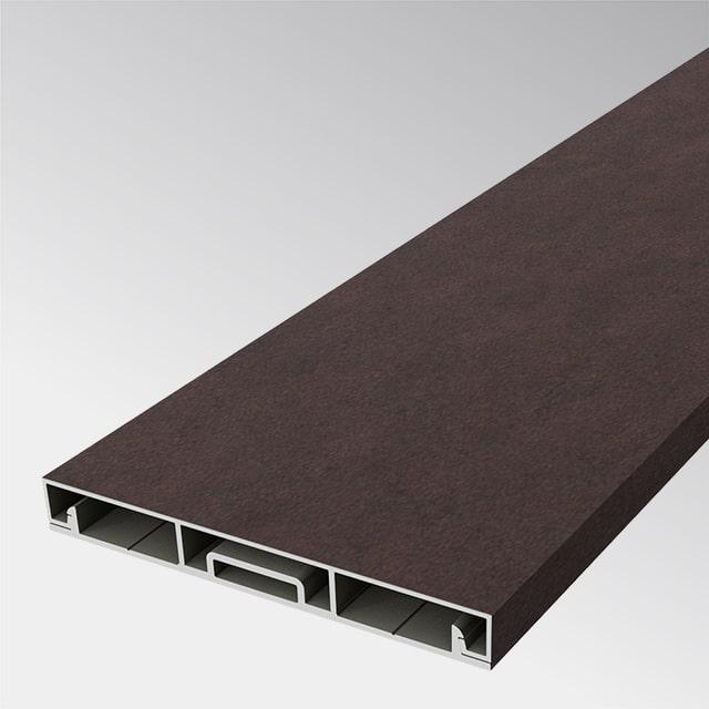 Aluminiumlatte braun 100×100 (t:1.2mm)