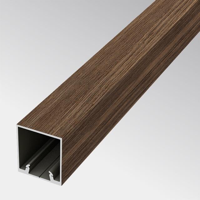 Aluminium in Holzoptik 24×27 (t:1.0mm)