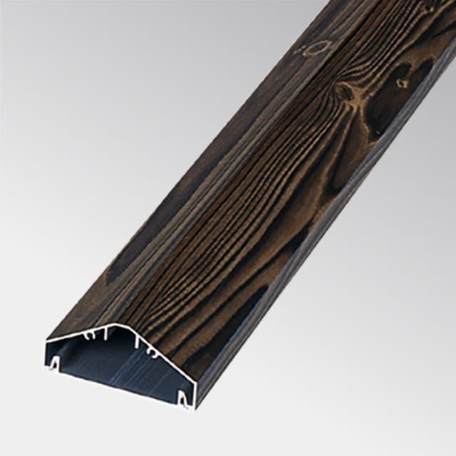 Aluminium in Holzoptik