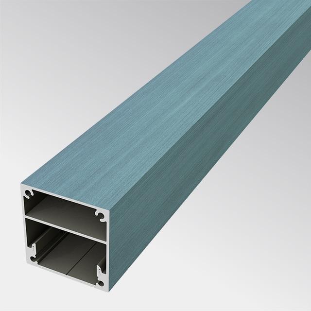 Aluminium in Holzoptik 50×50 (t:1.5mm)