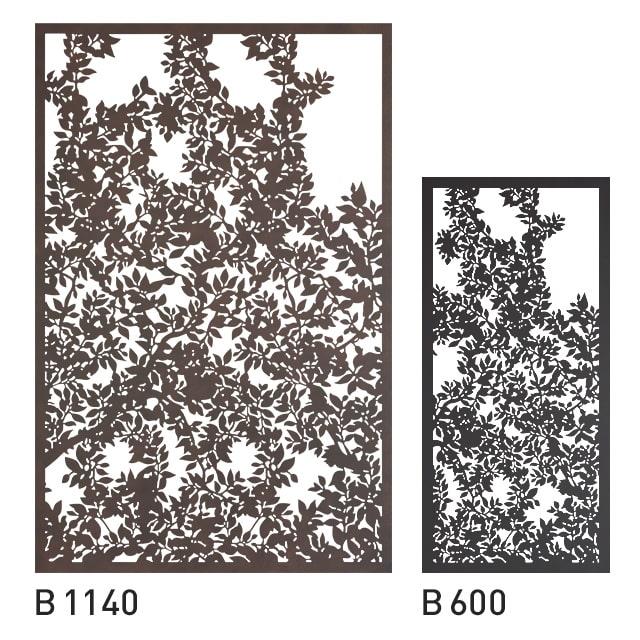 Design Panel Baumblätter
