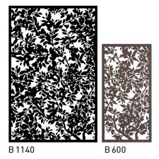 Design Panel with Forest Pattern