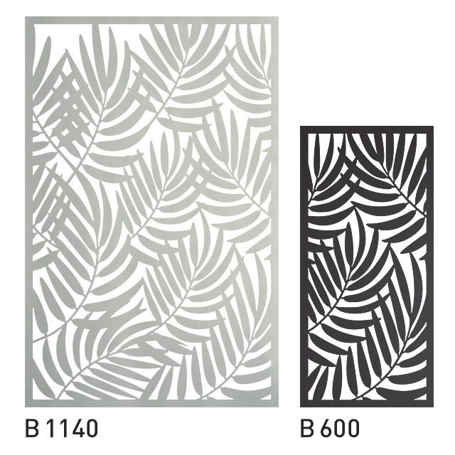 Design Panel Bambusblatt