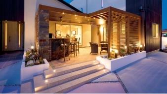 Außenbeleuchtung LED für Terasse