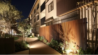 Außenbeleuchtung LED für Zaun