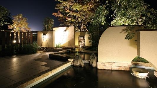 LED-Beleuchtung Garten
