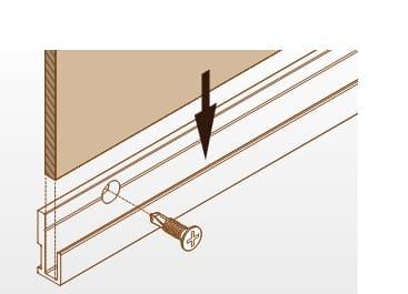 Wandverkleidung Leisten und Schienen Montage
